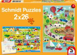 Colourful World Vehicles Multi-Pack