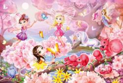 Fairy Dance Unicorns Jigsaw Puzzle