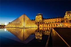 The Louvre by Night France Jigsaw Puzzle