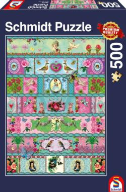 Paradise Banderoles Pattern / Assortment Jigsaw Puzzle