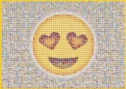 Emoticon Pattern / Assortment Jigsaw Puzzle