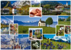In The Mountains Pattern / Assortment Jigsaw Puzzle