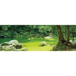 Mossman Gorge Lakes / Rivers / Streams Panoramic Puzzle