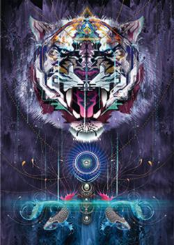 Snarling Tiger Tigers Jigsaw Puzzle