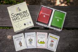 Someone Has Died Card Game
