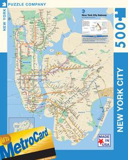 NYC Subway New York Jigsaw Puzzle