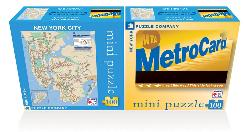 NY Subway (Mini) Travel Jigsaw Puzzle