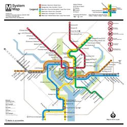 Washington DC (Transit Maps) United States Jigsaw Puzzle