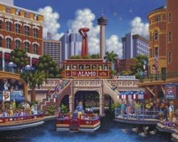 San Antonio Lakes / Rivers / Streams Jigsaw Puzzle