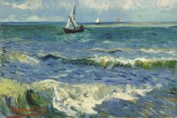 Seascape by Van Gogh People