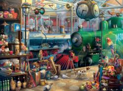 Train Station (Seek and Find) Everyday Objects Jigsaw Puzzle