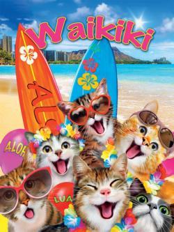 Waikiki Selfie (Selfies) Dogs Jigsaw Puzzle