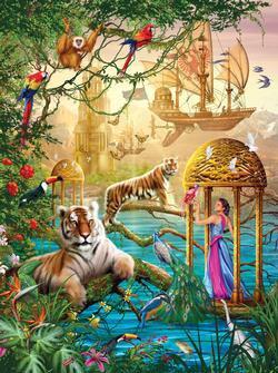 Sangri-La Summer  (Holographic) Fantasy Jigsaw Puzzle