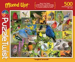 Songbird Serenade Collage Jigsaw Puzzle