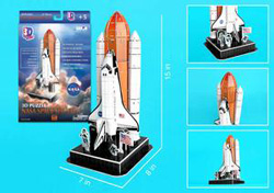 Space Shuttle History 3D Puzzle