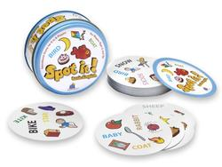 Spot It! Basic English Card Game
