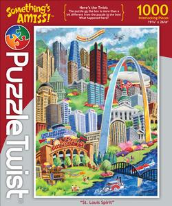 St. Louis Spirit Collage Jigsaw Puzzle