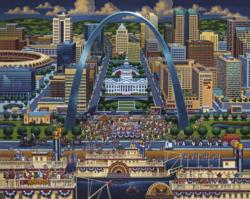 St. Louis Lakes / Rivers / Streams Jigsaw Puzzle