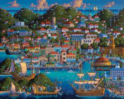 St Thomas Folk Art Jigsaw Puzzle