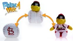 MLB Reverse-A-Pal - Cardinals St. Louis Cardinals Plush Toy