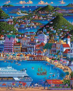 St. Maarten Folk Art Jigsaw Puzzle