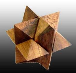 Star Cube Med Brain Teaser