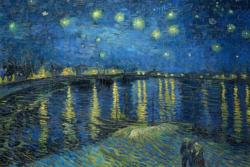 Starry Night Over the Rhone by Van Gogh People