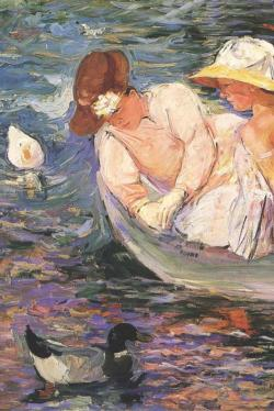 Summertime by Mary Cassatt Fine Art
