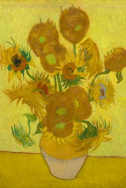 Sunflowers by Van Gogh People