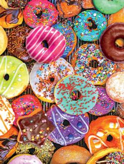 Donuts (Sweets) Food and Drink Jigsaw Puzzle