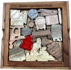 Teacher Appreciation Puzzle Brain Teaser