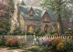 Liberty Cottage Cottage / Cabin Jigsaw Puzzle