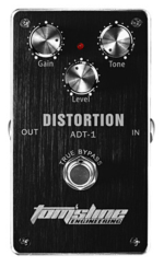 Tomsline Distortion True Bypass Guitar Effect Pedal