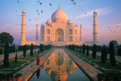 Taj Mahal, India Travel Jigsaw Puzzle