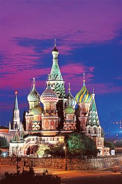 St Basil's Cathedral Moscow Travel Jigsaw Puzzle