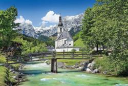 Church in Ramsau, Germany Churches Jigsaw Puzzle