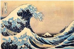 The Great Wave of Kanagawa Fine Art Jigsaw Puzzle