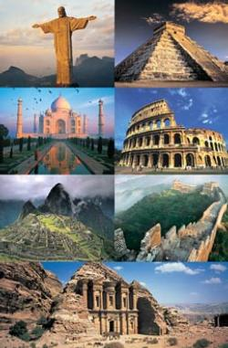 The 7 New Wonders Of The World Taj Mahal Jigsaw Puzzle