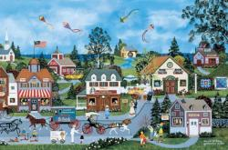 The Life Of Riley Folk Art Jigsaw Puzzle