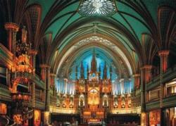 Notre-Dame De Montreal, Canada Landmarks Jigsaw Puzzle