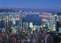 Hong Kong By Night Skyline / Cityscape Jigsaw Puzzle