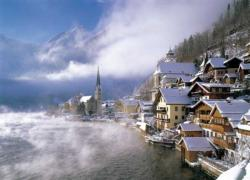 Hallstatt, Austria Lakes / Rivers / Streams Jigsaw Puzzle