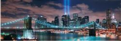 Brooklyn Bridge, USA Glow in the dark Bridges Jigsaw Puzzle
