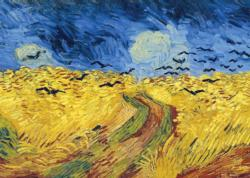 Wheatfield with Crows Fine Art Miniature Puzzle
