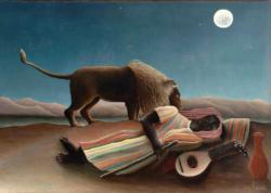 Sleeping Gypsy African American Jigsaw Puzzle