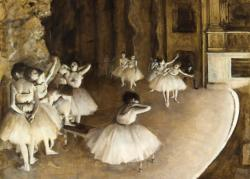 Ballet Rehearsal on stage Dance Miniature Puzzle