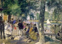 Bathing on the Seine, La Greno Fine Art Miniature Puzzle