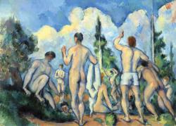 The Large Bathers Fine Art Miniature Puzzle
