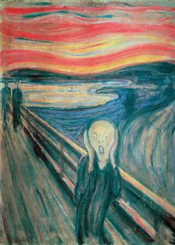 The Scream Fine Art Miniature Puzzle