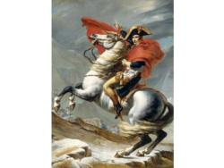 The Napoleon Crossing the Alps History Wooden Jigsaw Puzzle